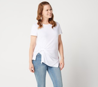 Peace Love World Side Pinched Short Sleeve Tee