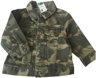 Benetton Green Denim - Jeans Jackets & Coats