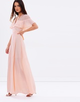 Dream Frill Maxi Wrap Dress
