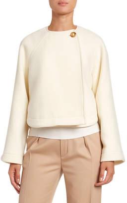 Chloé Iconic Soft Wool Short Coat