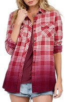 Volcom Women's Sano Days Plaid Shirt