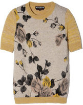 Rochas Short-Sleeve Sweater