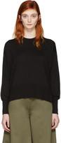 MM6 MAISON MARGIELA Black Cotton Pullover