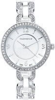 Charter Club Women's Silver-Tone Crystal Bracelet Watch 33mm 17190, Only at Macy's