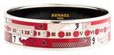 Hermes Wide Enamel Bracelet