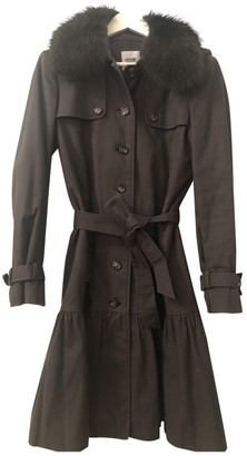 Moschino Cheap & Chic Moschino Cheap And Chic Khaki Cotton Coat for Women