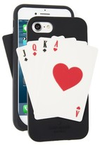 Kate Spade Deck Of Cards Iphone 7 Case - Black