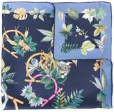 Salvatore Ferragamo floral Gancio print scarf