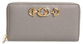 Gucci 548 Zip-Around Leather Wallet