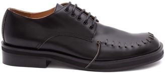 J.W.Anderson stitch detailed Derby shoes