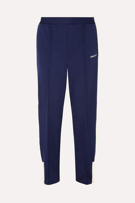 Ambush Striped Stretch-jersey Track Pants - Navy