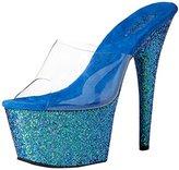 Pleaser USA Women's Ado701lg/c/blg Platform Sandal