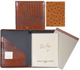 Scully Zip Planner & Letter Pad Ostrich 5014Z