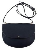 A.P.C. Women's Blue Leather Shoulder Bag.