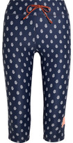 The Upside Power Printed Stretch-Jersey Leggings