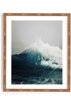 DENY Designs Sea Wave Framed Wall Art