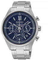 Seiko Stainless Steel Chronograph Watch