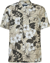 Levi's Made & Crafted floral print shortsleeved shirt