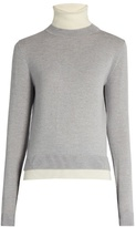 ADAM by Adam Lippes Roll-neck merino-wool sweater