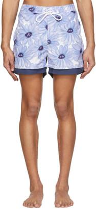 Jacquemus Blue Le Double Swim Shorts