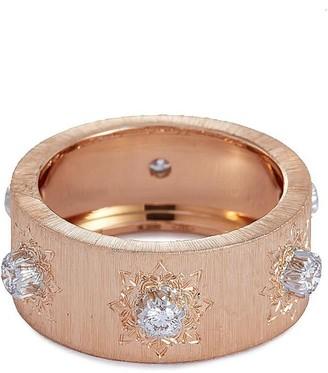 Buccellati 'Macri Classica Eternelle' diamond 18k rose gold ring