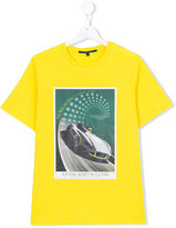 Aston Martin Kids - car print T-shirt - kids - Cotton - 14 yrs