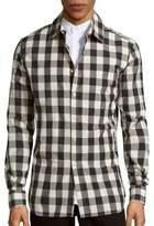 Pierre Balmain Checked Cotton Shirt