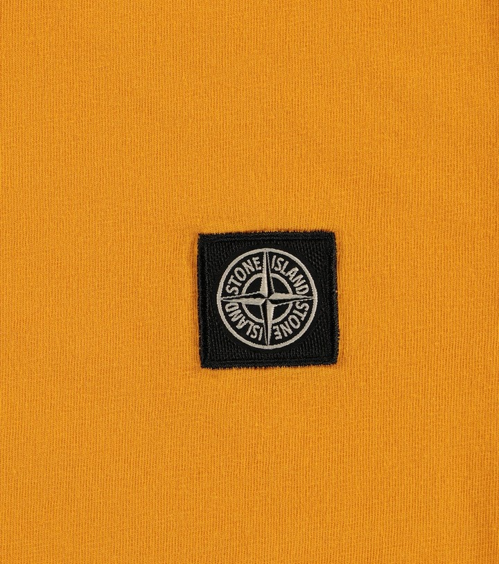 Thumbnail for your product : Stone Island Junior Logo cotton jersey T-shirt