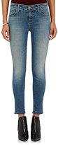 J Brand Women's 835 Mid-Rise Capri Jeans-BLUE