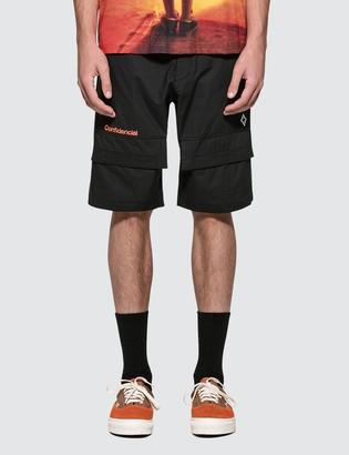 Marcelo Burlon County of Milan Confidencial Shorts
