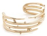 Alexis Bittar Satellite Crystal Spiked Cuff Bracelet