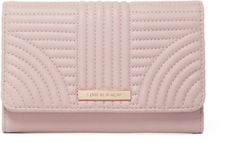 Forever New Quinn Quilted Wallet - Blush - 00