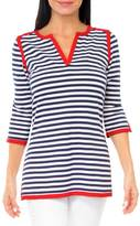 Gretchen Scott Admiral Stripe Tunic