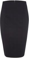 Oxford Monroe Pinstripe Suit Skirt Nvy X