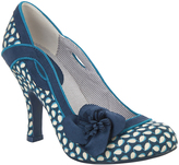 Ruby Shoo Blue Floral Issy Pump