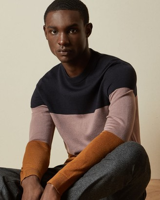 Ted Baker Colour Block Jumper