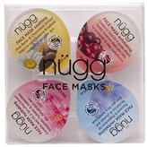 nügg Face Mask 4-Pack - Soothe, Exfoliate, Hydrate, and Revitalize