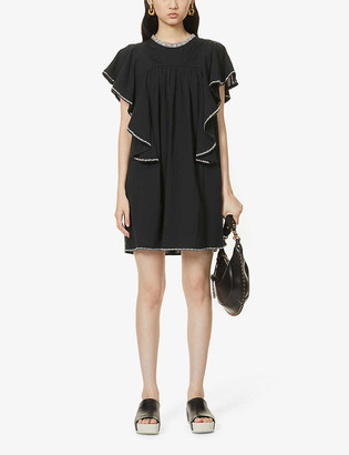 Etoile Isabel Marant Reyes cotton mini dress