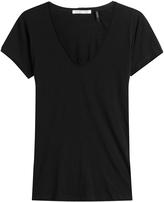 Helmut Lang T-shirt en coton et en ca