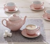 Pottery Barn Kids Pink Ceramic Classic Tea Set