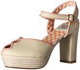 Bettie Page Women's Bp385-Donna Platform Dress Sandal
