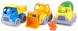 Green Toys Construction Trucks Toy Gift Set