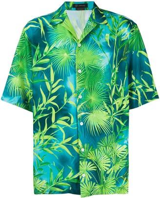 Versace Jungle baseball shirt