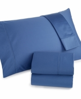 Charter Club CLOSEOUT! Damask Extra Deep Pockets King 4-pc Sheet Set, 500 Thread Count 100% Pima Cotton