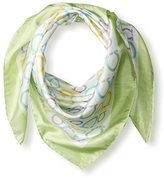 Salvatore Ferragamo Women's Patterned Scarf, Verdino