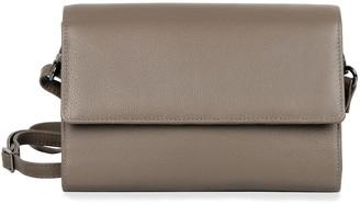 Karla Hanson RFID-Blocking Delia Leather Crossbody Travel Clutch