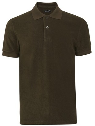 Tom Ford Towelling short sleeve polo