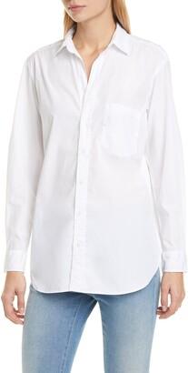 Frank And Eileen Joedy Superfine Stripe Cotton Shirt