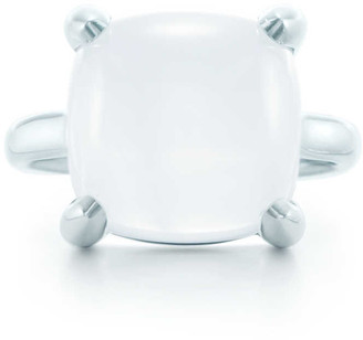 Tiffany & Co. Paloma's Sugar Stacks ring in sterling silver with a milky quartz