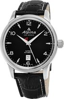 Alpina Men's 42mm Calfskin Band Steel Case Automatic Watch AL-525B4E6
